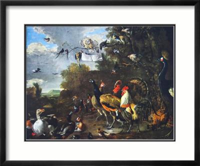 Melchior D'Hondecoeter, Birds' concert