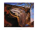 Reloj blando en el momento de su primera explosión, ca. 1954 Láminas por Salvador Dalí