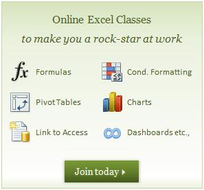 Excel School Dashboard Training Program