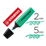 Rotulador Stabilo Boss 70 turquesa fluorescente