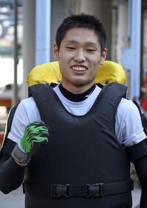 上田龍星はデビュー節で見事に初勝利を挙げた(撮影・北條直治)