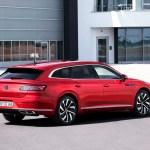 Volkswagen Arteon Facelift Och Arteon Shooting Brake Officiella Teknikens Varld