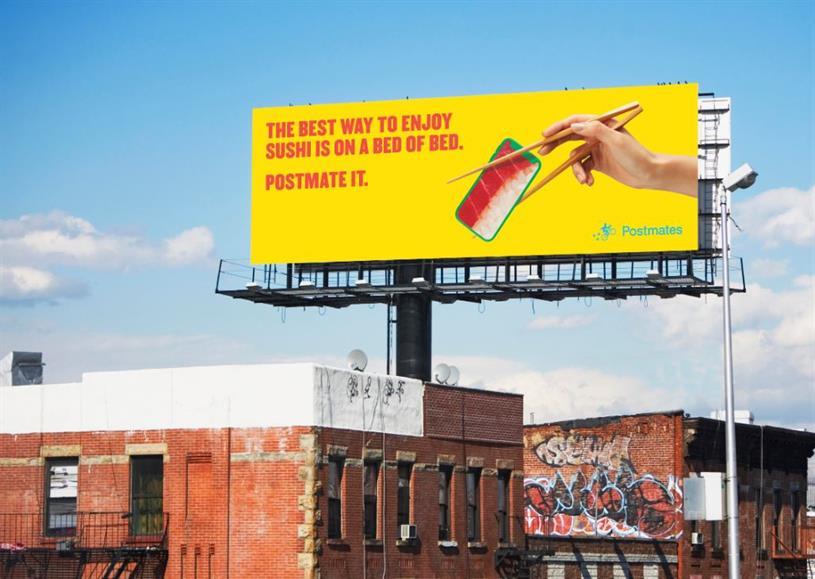 billboard for postmates