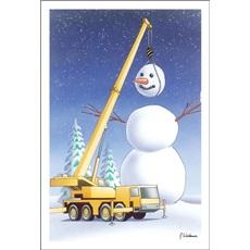 Construction Equipment Christmas Cards Paul Oxman Publishing