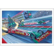 Dragsters Amp Drag Racing Christmas Cards Paul Oxman