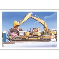 Construction Equipment Christmas Cards Paul Oxman Publishing