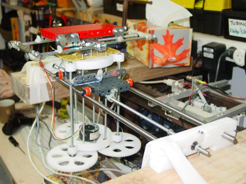 Reprap First 3D Cartesian