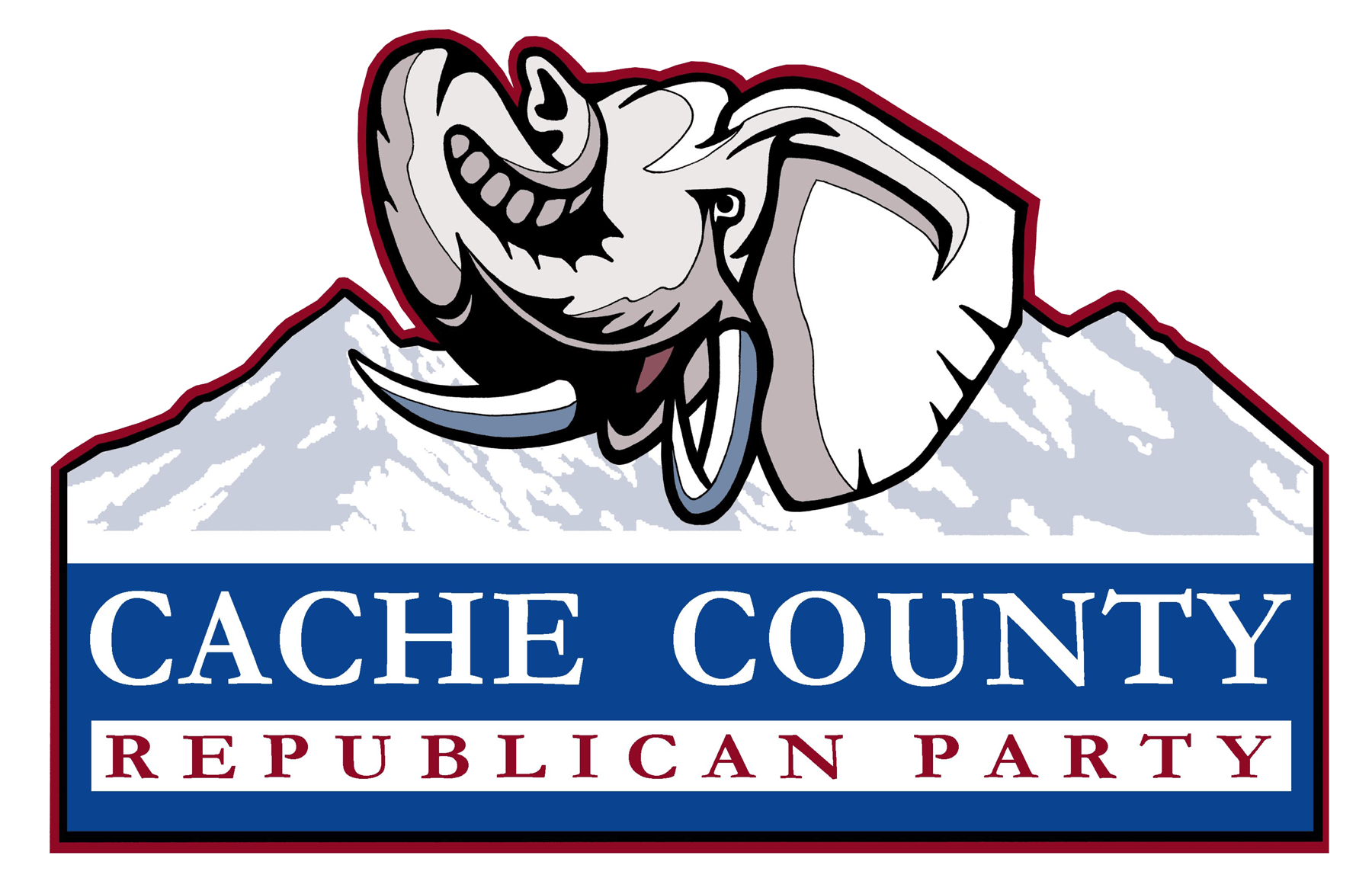 Cache County Republican Party logo