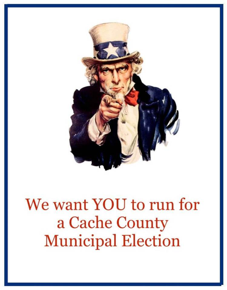 We want you to run for a Cache County Municipal Election