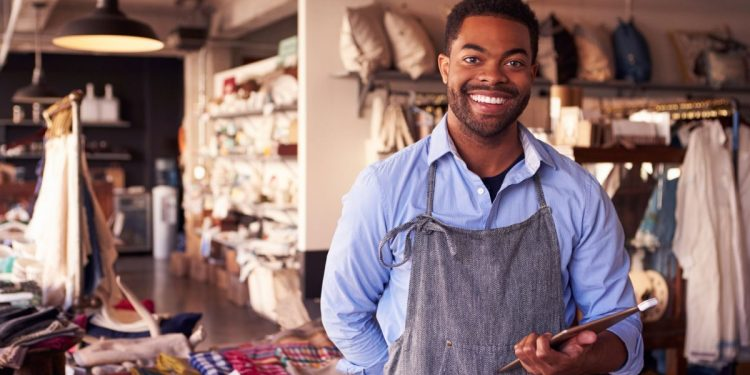 Male Small Business Owner