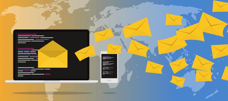 Email marketing using social media