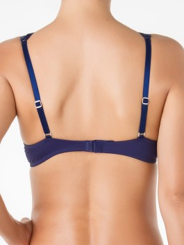 Mikonos Passion Blue Structured Bra