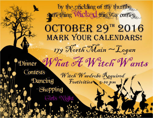 Witches Night Out Logan Utah