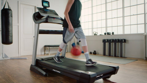 Local Teenage Basketballer Showcases Ball Handling on ProForm Treadmill in National Campaign Celebrating March Madness