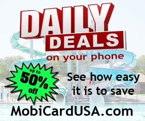 Daily deals with MobiCard