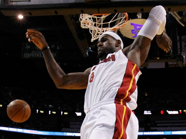 Miami Heat y Lebron James hacen historia en la NBA