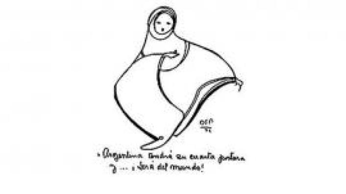 El dibujo de Parravicini