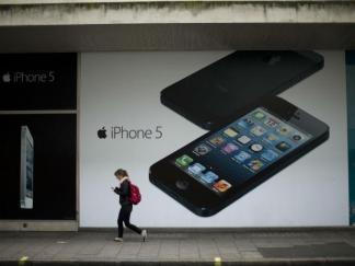 Acciones de Apple caen tras reporte de ventas del iPhone