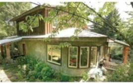 Una casa hecha de marihuana