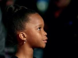 La pequeña de 9 años se ha convertido en la actriz más joven en ser nominada.