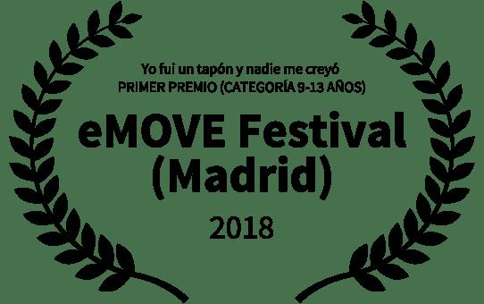 "Primer premio ""III Emove Festival"" de Madrid"