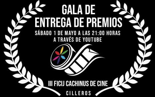 Gala Online de Entrega de premios III FICIJ Cachinus de Cine 2021