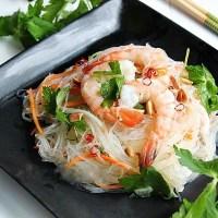 Cách làm miến trộn chua cay kiểu Thái