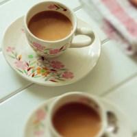 Cách pha Trà sữa cà phê đơn giản