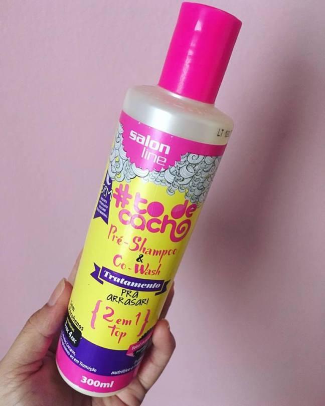 Pré-shampoo & Co-wash Tratamento Pra Arrasar #ToDeCacho