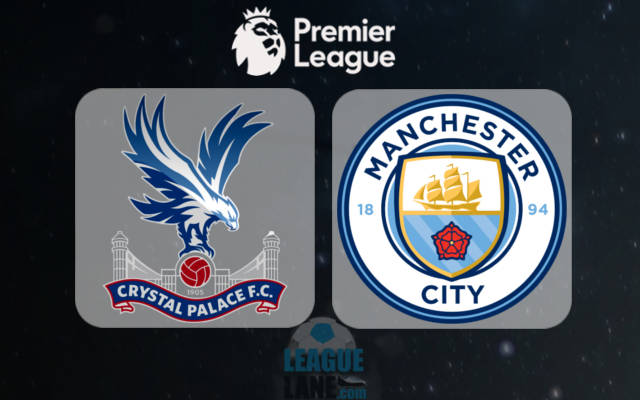 Crystal Palace vs Manchester City