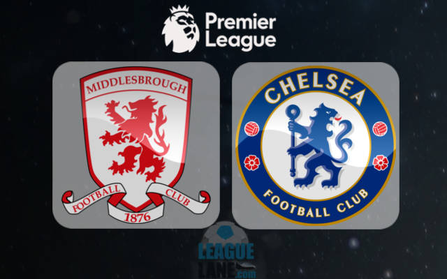 Middlesbrough vs Chelsea