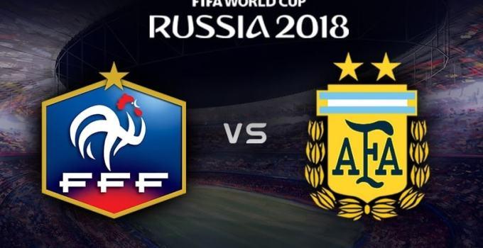 Nhận đình kèo World Cup 2018: Pháp vs Argentina, 21:00 ngày 30/06