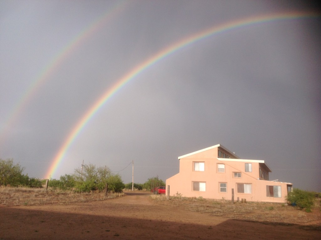 double rainbow over The Lord's Ranch