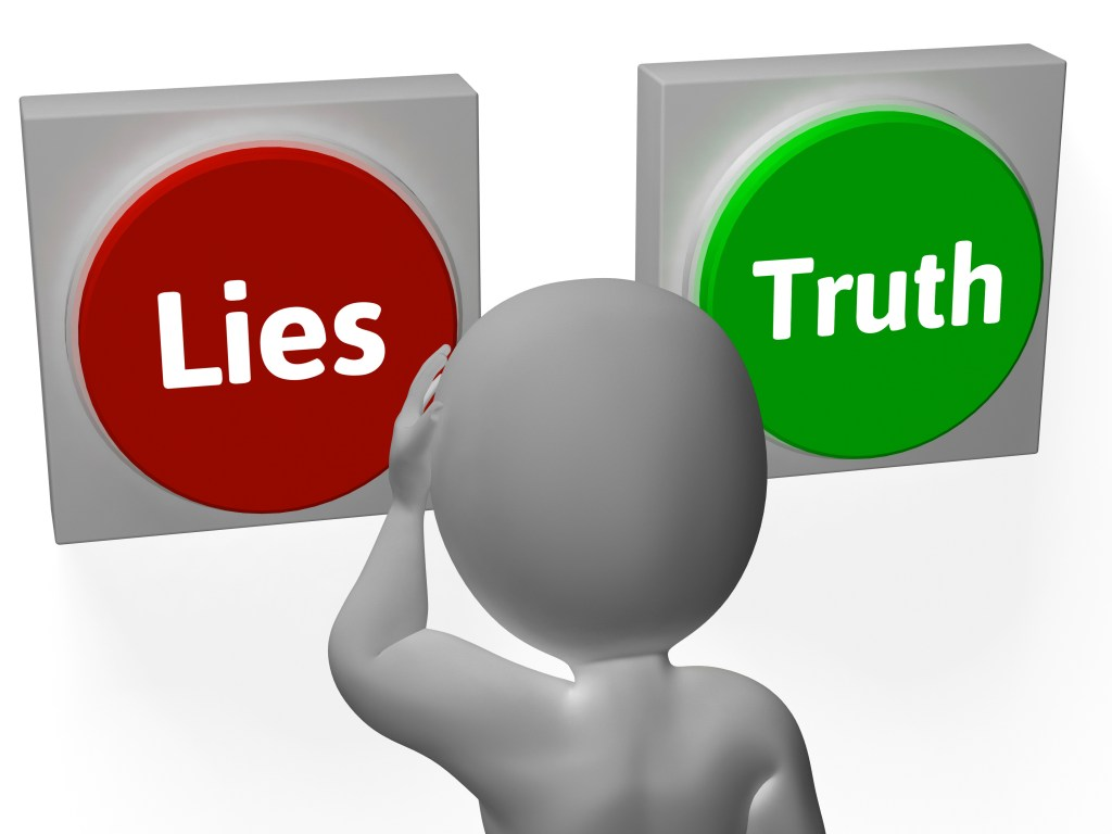 Lies Truth Buttons