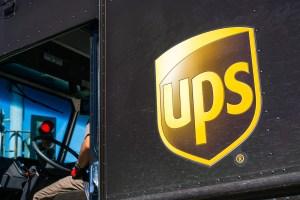 UPS truck