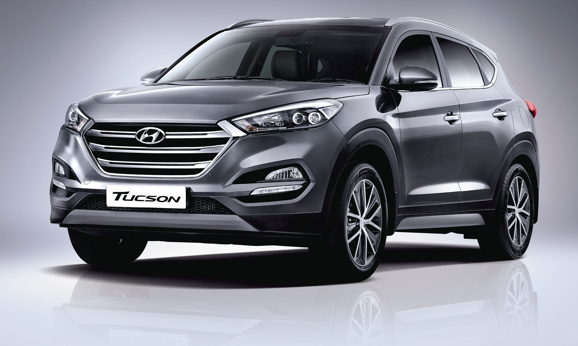 2017 Hyundai Tucson Front Side View Uhd Wallpaper Latest