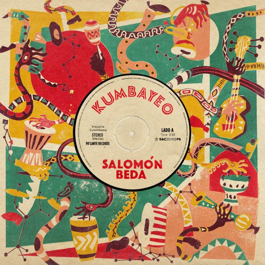 Portada del sencillo Kumbayeo de Salomón Beda