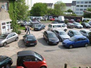 Tag der offenen Tür 2009 - Parkplatz