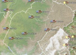 So kalt ist es in Teilen Südafrikas