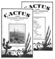 Das Cactus and Succulent Journal auf DVD