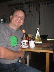 Unternehmer des Jahres beim Kaffee