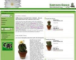 Astrophytum Mutterpflanzen auf der Startseite von Kakteen-Haage