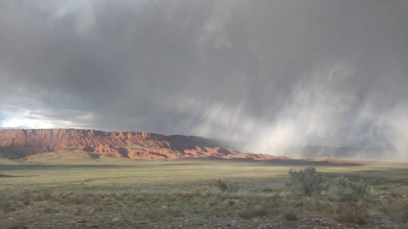 Vermilion Cliffs Rain Band