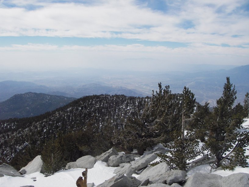 View from San Jacinto