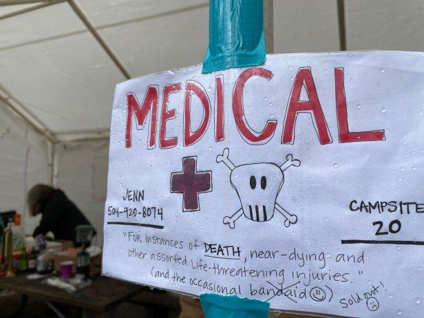 Barkley 2021 Medical Tent