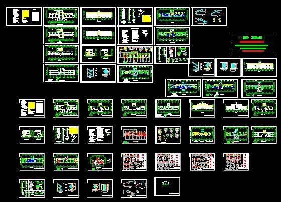 A Full Set Of Hospital Free Download AutoCAD Blocks Cad