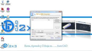 Como Pasar un Archivo PDF a DWG
