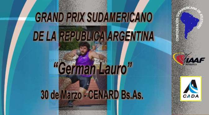 "Grand Prix ""GERMAN LAURO"""