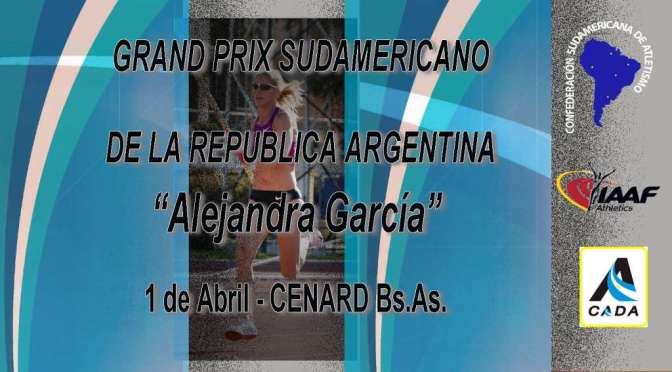 "Grand Prix ""ALEJANDRA GARCIA"""
