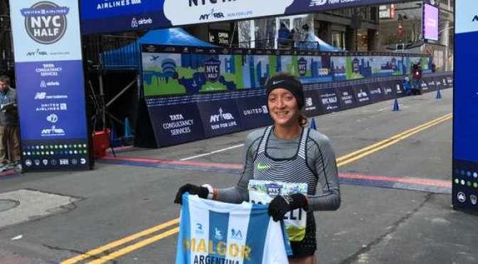 Florencia Borelli, 1h13m11s en los 21k de Nueva York